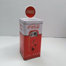 Coca-Cola Tin Vending Machine Piggy Bank - BRAND NEW