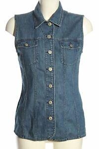 MARC AUREL Jeansweste blau Casual-Look Damen Gr. DE 36 Weste Vest Baumwolle