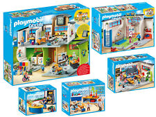 Playmobil® 9453 Große Schule Komplett Set 9454 9455 9456 9457 5teilig neu ovp
