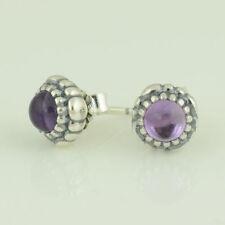 PANDORA Amethyst Fine Earrings