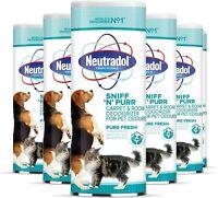 Pet Odour Remover Powder Neutral Sniff n Purr Carpets Fabrics Freshener