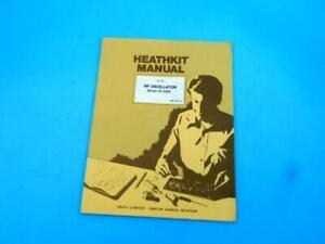 Heathkit IG-5280 RF Oscillator Original Manual Home Electronics Education