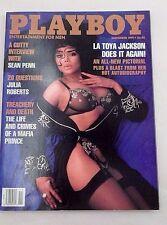 November 1991 Playboy LaToya Jackson Tonja Marie Christensen Sean Penn Interview