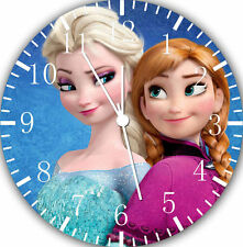 """Disney Frozen Elsa wall Clock 10"""" will be nice Gift and Room wall Decor W475"""