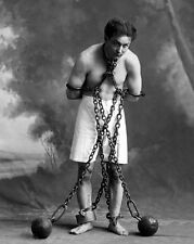 American Magician Harry Houdini 8x10 Photo Stunt Performer Actor Print