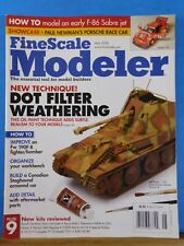 FineScale Modeler 2008 May  Dot Filter Weathering Early F-86 Sabre jet