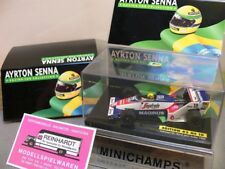 1/43 Minichamps ayrton senna Toleman TG 183 B-Hart turbo 1984 #19