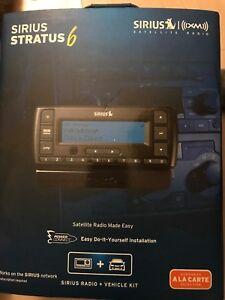 Sirus Stratus 6  XM Satellite Radio + Car Kit Only