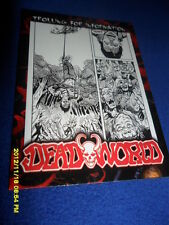 """2012 BREYGENT DEAD WORLD ZOMBIE CARD """" HANGING TO BE FED TO THE ZOMBIES  """" #13"""