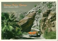 "Palm Springs CA ""Canyon Road "" 1950's Postcard   California * FREE US SHIPPING"