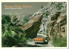 "Palm Springs CA ""Canyon Road "" 1950's"" Postcard   California *FREE US SHIPPING*"