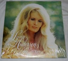 NEW SEALED! LYNN ANDERSON SINGS ABOUT LOVE/SMILE FOR ME 2-FER LP