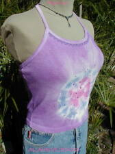 ~PLAY~ Purple*Dyed *Rhinestone Halter  ALLAHBLUEDESIGNS