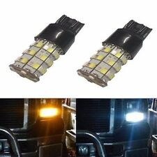 JDM ASTAR 2x 700LM 7443 T202835 60SMD Dual Color White/Amber Switchback LED Bulb