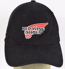 Black Red Wing Shoes Manufacturing embroidered baseball hat cap adjustable