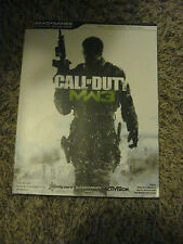 "Call of Duty MW3 BRADY GAMES SIGNATURE SERIUS GUIDE Gamers BOOK ""MODERN WARFARE"