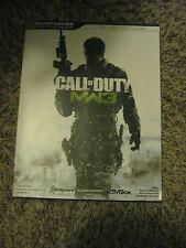 "Call of Duty MW3 BRADY GAMES SIGNATURE SERIUS GUIDE Gamers BOOK ""MODERN WARFARE"