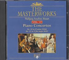 The Masterworks Vol. 17-Wolfgang Amadeus Mozart Piano Concertos K466,K482CD