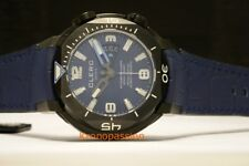 Clerc Hydroscaph H1 Certified Chronometer Blue Dial New !
