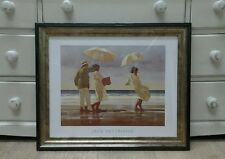 The Picnic Party by Jack Vettriano Large Deluxe Framed Art Print Romantic