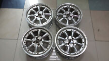 "JDM 16"" SSR RS8 rs-8 pcd100x4 wheels banana watanabe br civic mx5 miata e30 crx"