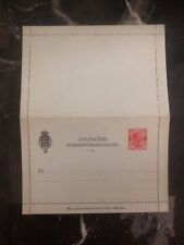 Mint Denmark Military Postal Stationary 10 Ore