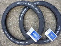 "TYRES Schwalbe CRAZY BOB Addix 20"" X 2.10 BMX BIKE PAIR FREESTYLE 20x2.10"