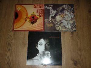3 x KATE BUSH LP's - Kick Inside / Never for Ever / Sensual World