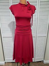 NWT Retrolicious Dance Floor Date Women's Dress in Scarlet Red Sz M Pin-Up Vtge