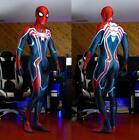 Spiderman Velocity Suit Jumpsuit Spider-Man Bodysuit Cosplay Costume Adult Kids