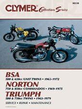 CLYMER SERVICE MANUAL TRIUMPH 500cc, 600cc & 750cc TWINS 1963-1979 1978 1977