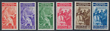 VATICAN :1935 International Judicial Conference,Rome set SG41-6 mint