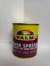 Palm Liver Spread 8 oz/227g Product of New Zealand (Lot of 3)