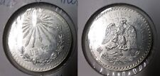 1923 Mexico Silver Peso-Cap and Rays/Eagle/ Snake- Super Nice