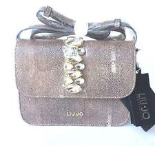 Handbags shopping LIU JO linea strass Ivory Cream