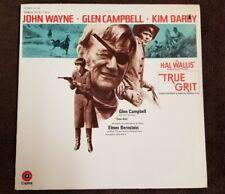"Vintage 1969 Glen Campbell ""True Grit"" Soundtrack LP CAPITOL Records (ST-263) NM"