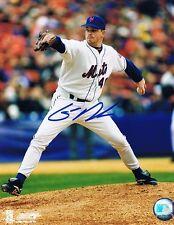 Glendon Rusch Signed Autographed 8x10 Photo - w/COA MLB NY Mets