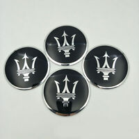 4Pcs 56,5 mm Auto Rad Center Caps Emblem Nabendeckel Abzeichen Logo für Maserati