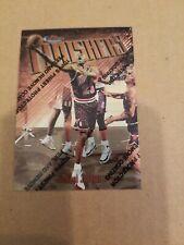 1997-98 MICHAEL JORDAN TOPPS FINEST FINISHERS CARD #39 CHICAGO BULLS  W/COATING