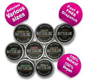 Butterluxe Flavoured Scented BUTTER - Various Sizes & Flavours 100% VEGAN