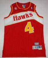 Atlanta Hawks NWT Spud Webb Hardwood Classics red Jersey size S M L XL XXL
