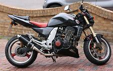 Kawasaki Z1000 03-06 SP Engineering Satin Black Round Moto GP XLS Exhausts