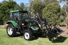 New 55hp Tractor for Sale Air Con Cabin + Front End Loader 4in1 Bucket 2.9 Tonne