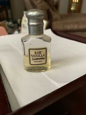 Raw Vanilla For Men by Coty After Shave .5 oz