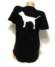 NWT Victorias Secret PINK Graphic Crewneck Tshirt Tee Short Sleeve Size Medium