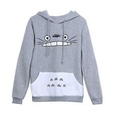 Fashion Totoro Pattern Hoodie Men Women Pullover Sweatshirt Cartoon Character