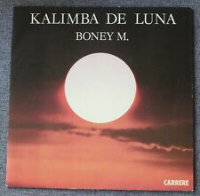 Boney M, Kalimba de luna / ten thousand light years , SP - 45 tours France