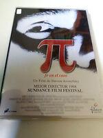 """DVD """"PI FE EN EL CAOS"""" COMO NUEVO DARREN ARONOFSKY SEAN GULLETTE"""