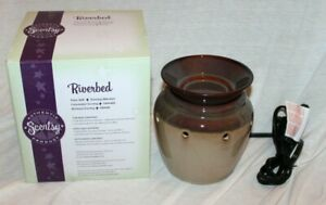 Scentsy Electric Wax Warmer ~ Riverbed ~ Full-Size ~ NEW NIB ~ Iridescent