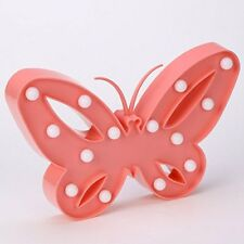NOVELTY BUTTERFLY SHAPED STANDING LED LIGHT NIGHT LAMP DECORATION NEW IN BOX